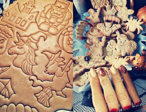 Medovoškoricové keksíky