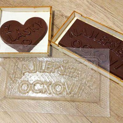 Pomôcky na čokoládu