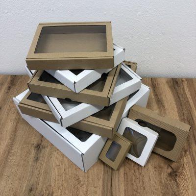 Krabičky s okienkom