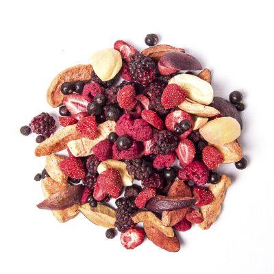 Sušené ovocie, oriešky