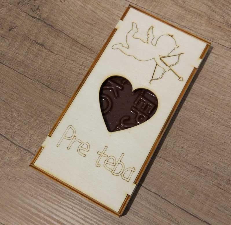 Čokoláda - obdĺžnik