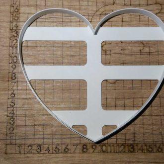 Formička Veľké srdce
