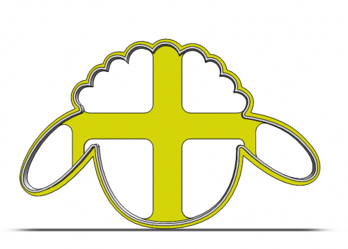 Ovečka- hlava 19-0084