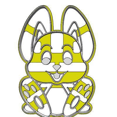 Sediaci zajačik 19-0078