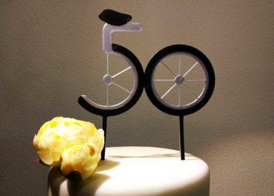 Zápich 50-tka pre cyklistu
