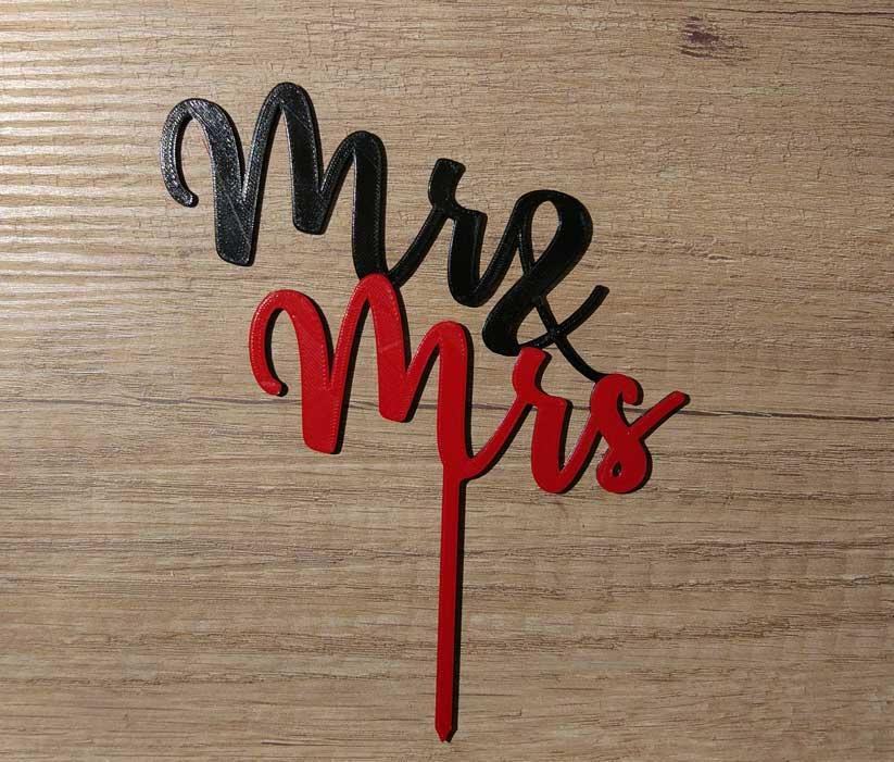 Zápich Mr Mrs