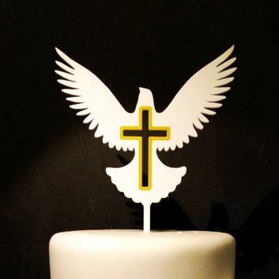 Zápich - holubica a kríž