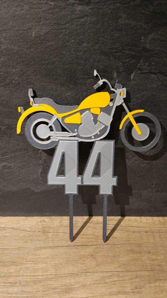 Zápich pre motorkára s vekom