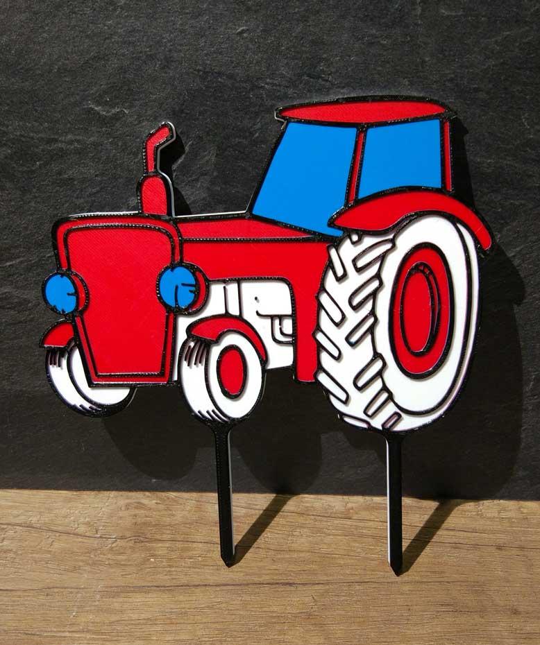 Zápich - traktor
