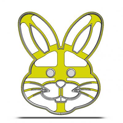 Zajačik- hlava 19-0079