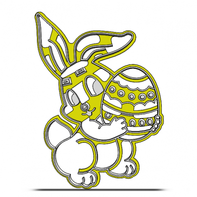 Zajačik s vajíčkom 19-0077