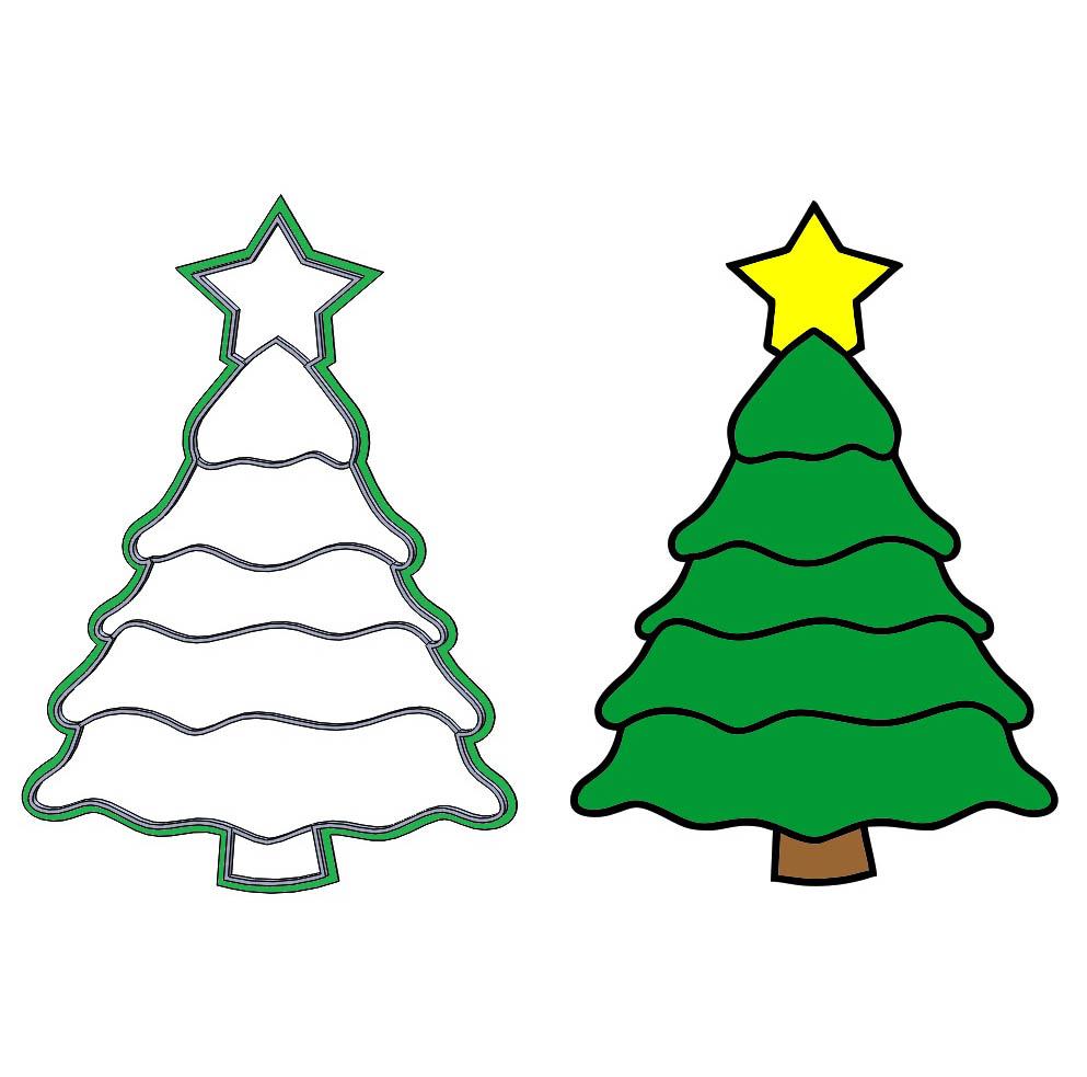 Formička – vianočný stromček
