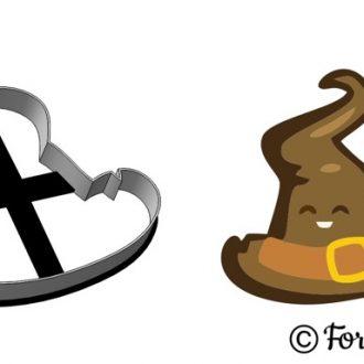 Formička - Halloweensky klobúk