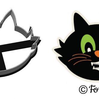 Formička - Hlava mačky