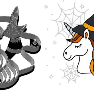 Formička - Halloweensky jednorožec 2