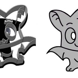 Formička - Ušatý netopier