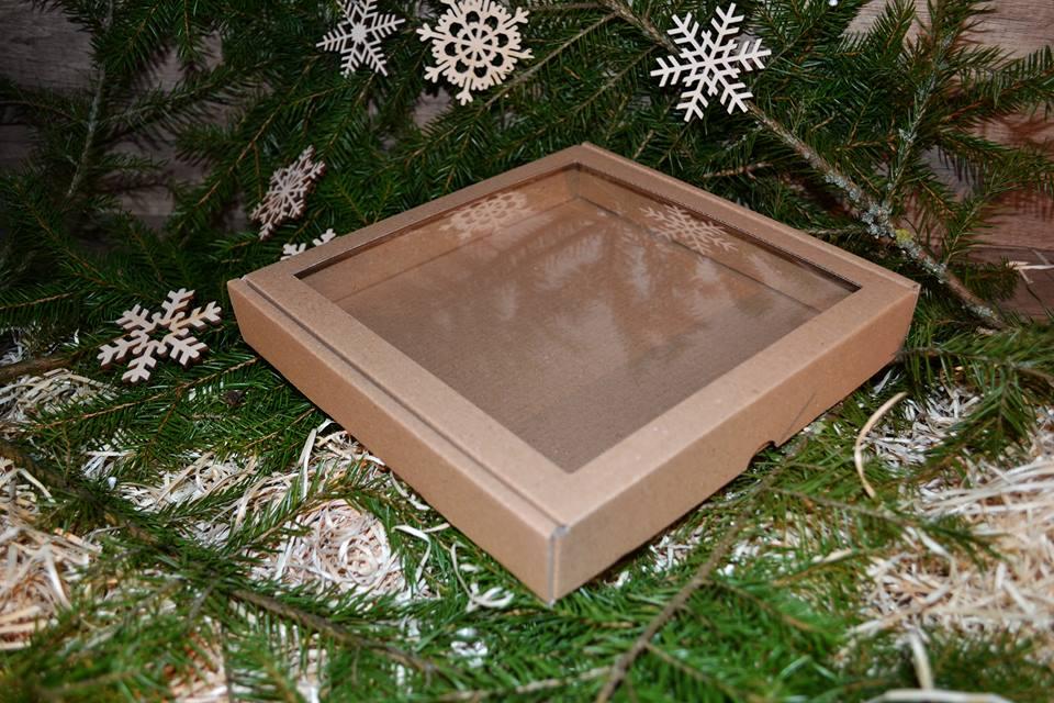 Krabica 17x17x3cm