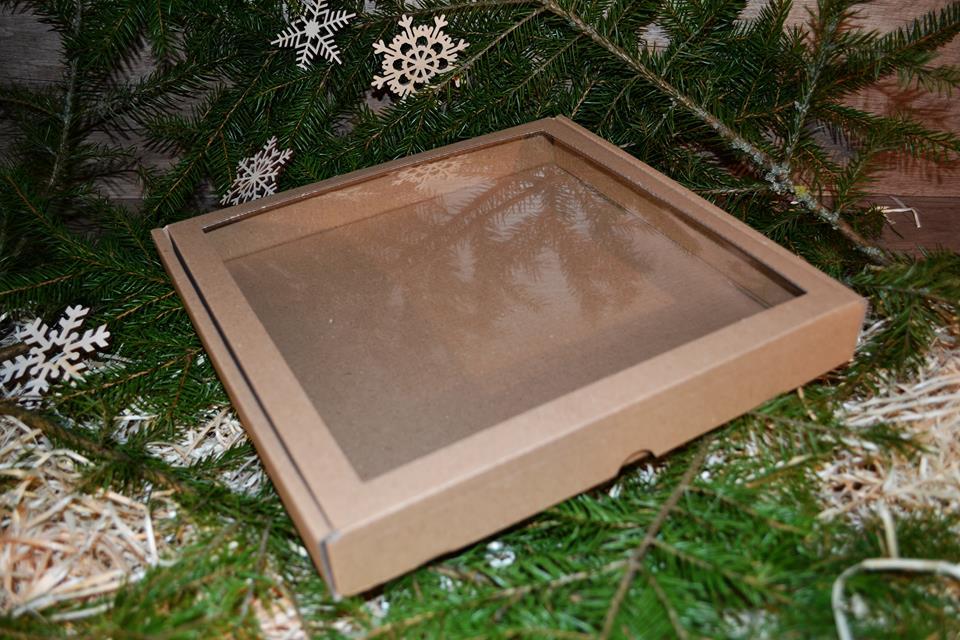 Krabica 24x24x3cm