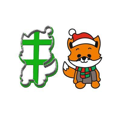 Formička - Vianočný lišiak obrys