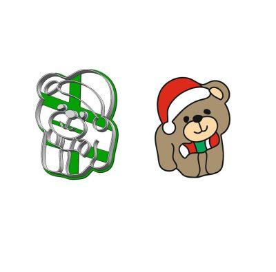 Formička - Vianočný macko