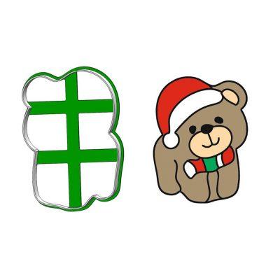 Formička - Vianočný macko obrys