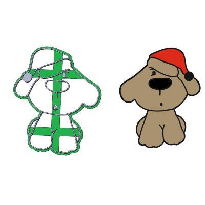 Formička - Pes s čiapkou