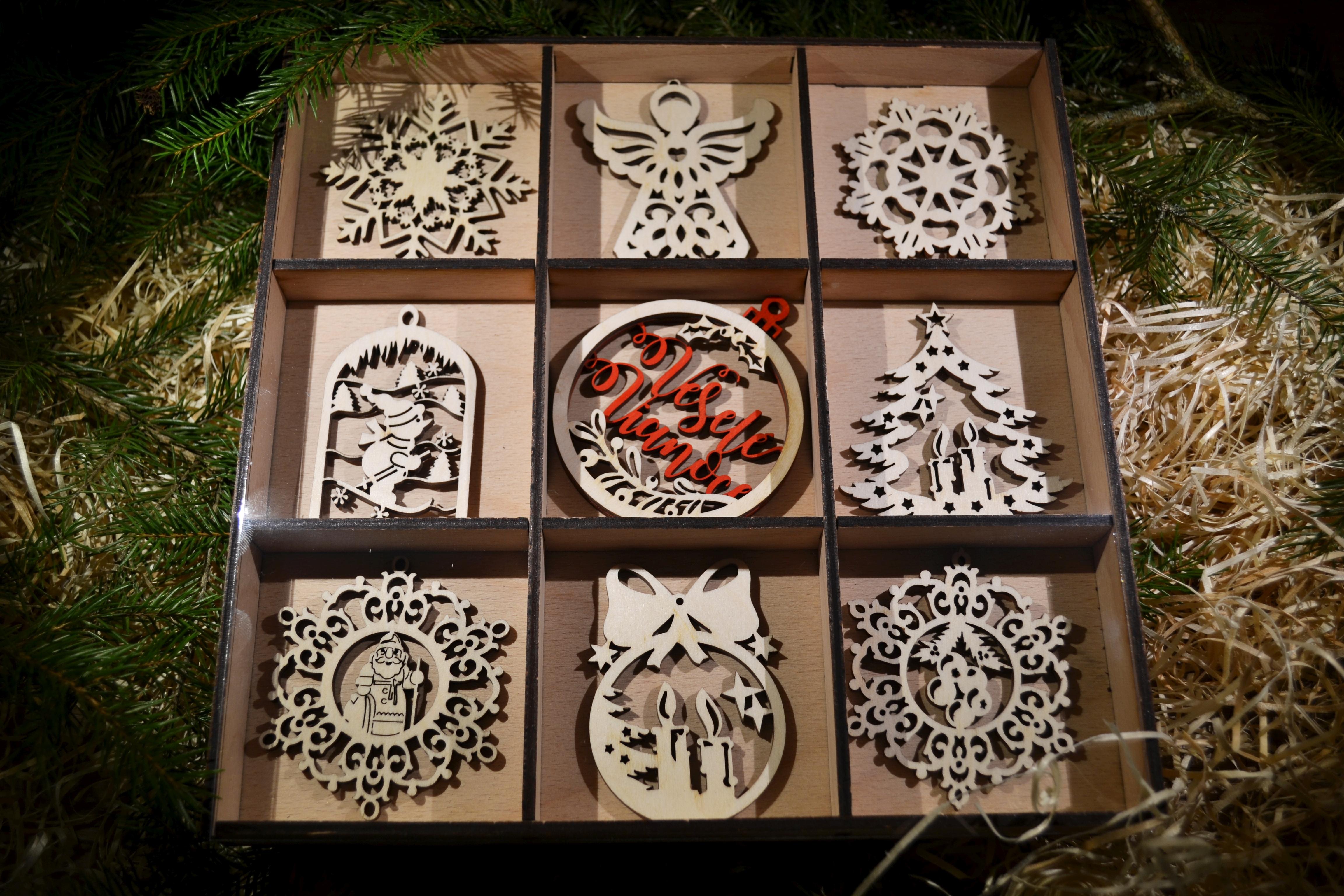 Vianočné ozdoby set