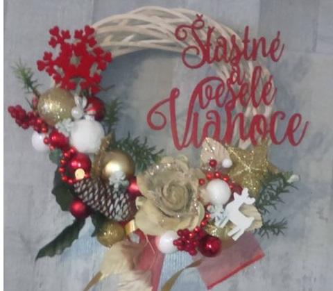 Zápich- Šťastné a vesele vianoce
