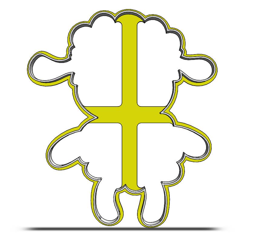 Ovečka- obrys 19-0050