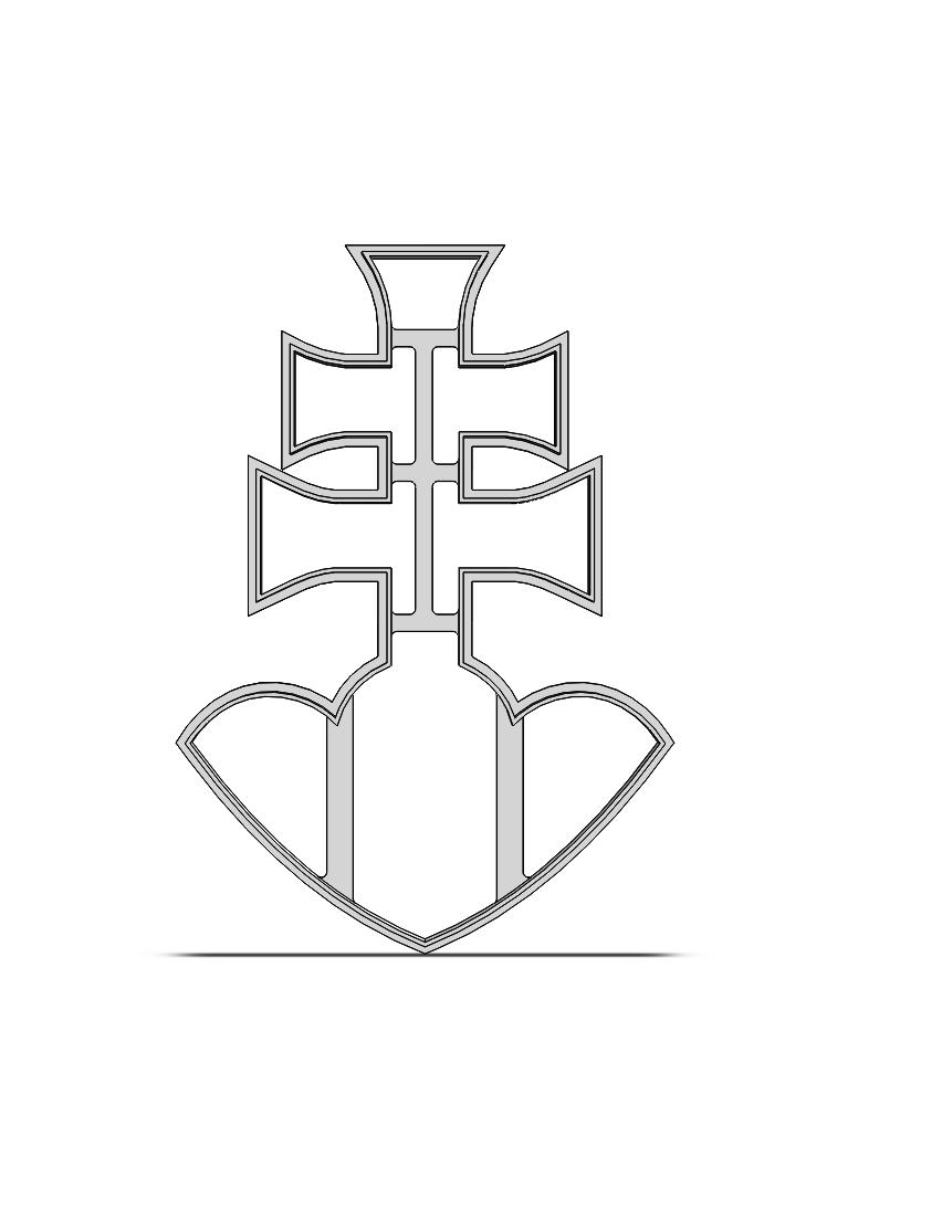 Dvojkríž- SK znak 19-0149