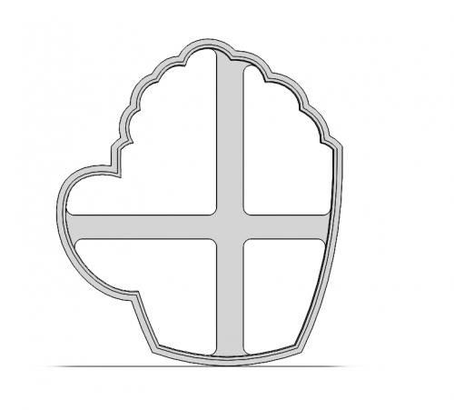 Hrnček so šľahačkou 19-0104