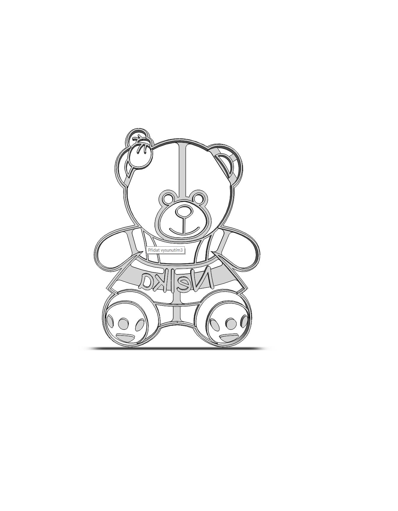 Medvedík s menom 19-0160