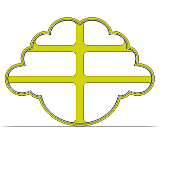 Ovečka- hlava 19-0118