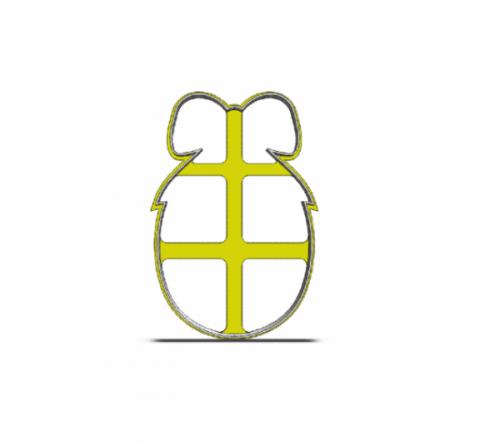 Vajíčko s mašľou 19-0112