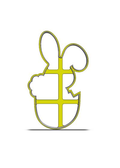 Zajačik v škrupinke 19-0141