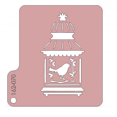 Klietka s vtáčikom 162-070