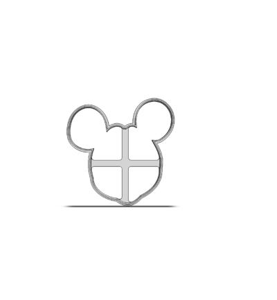 Mickey Mouse obrys 19-0220