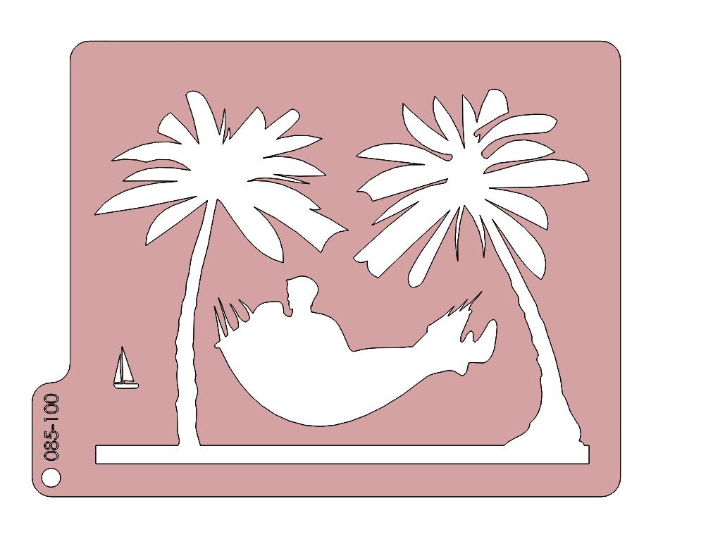 Oddych medzi palmami 085-100