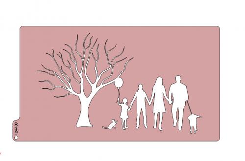Silueta- Rodina 124-100