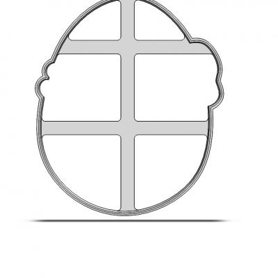 Vajíčko s mašľou 19-0212
