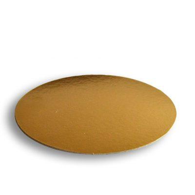 Podložka pod tortu Ø 30cm zlatá 1050g-m2