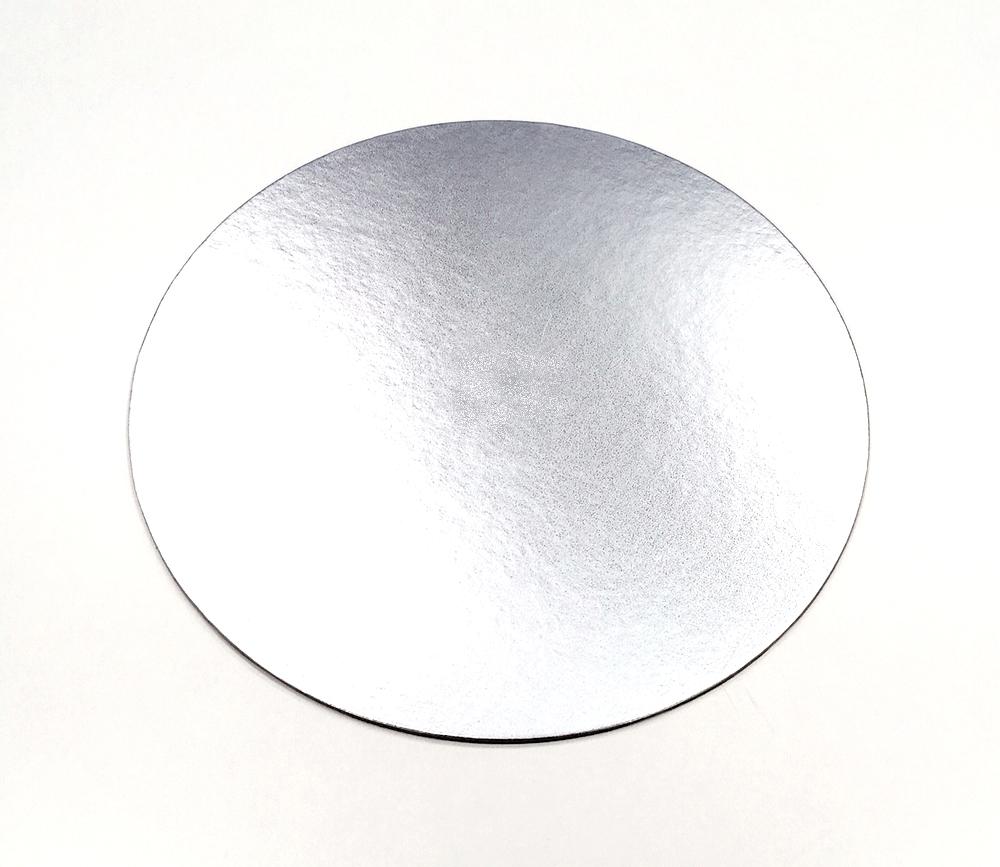 podložka strieborná kruh
