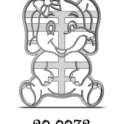 Sloník s mašľou