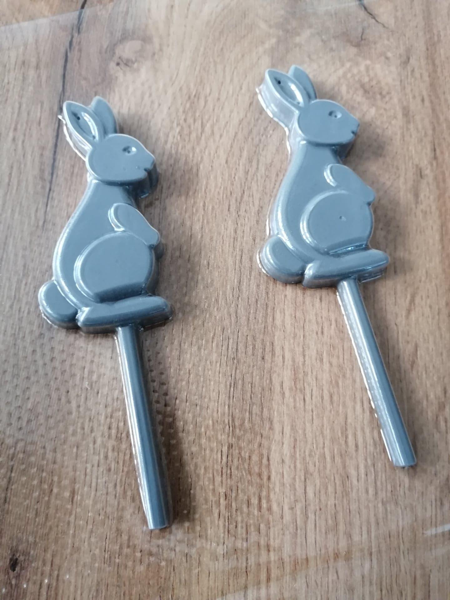 čokoládové zajačiky