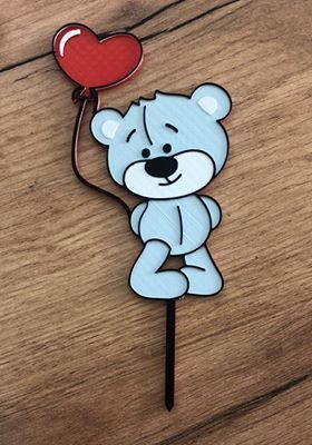 Medvedik s balonom